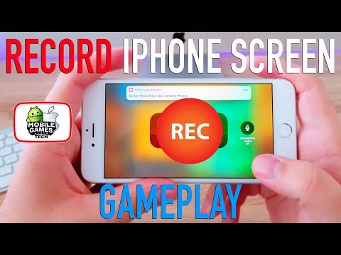 How to Record iPhone Screen/Gameplay + Internal Sound for Free - No Jailbreak - iOS 11