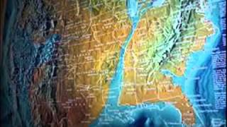 September Th Possible FUTURE MAP OF THE UNITED STATES AND WORLD - Future map of the united states