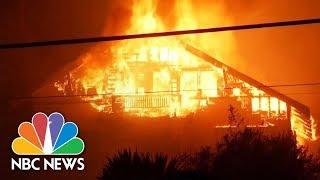 Ventura County, California Wildfire Spreads Across 30,000 Acres | NBC News