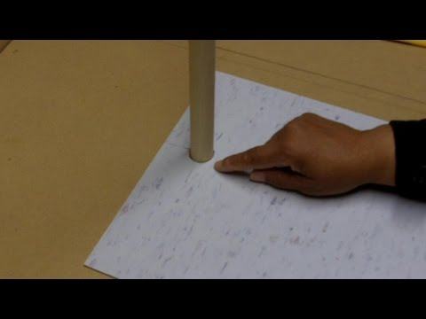 How to Make a Round Cut in Floor Tile