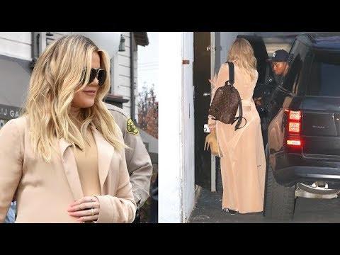 Pregnant Khloe Kardashian Is Addicted To Work!