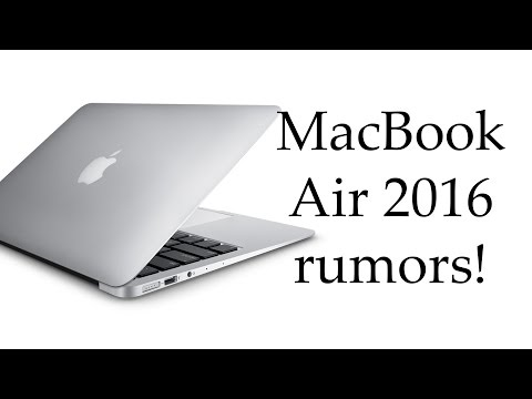 New MacBook Air 2016 Rumors & Rumored Release Date! (Intel Skylake-U, Force Touch)