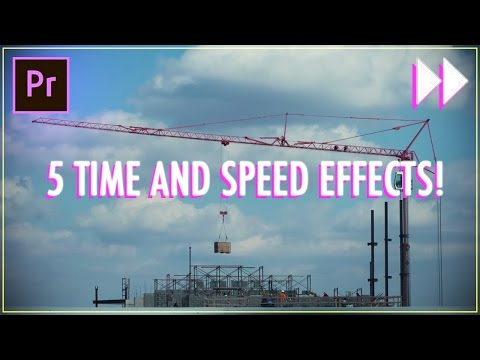 5 Essential Time & Speed Effects in Adobe Premiere Pro CC! (Slow Mo, Fast Forward, Ramping) (How to)