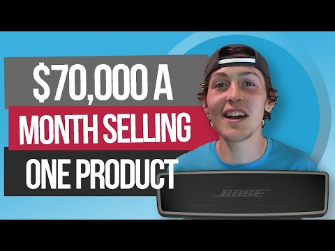 $70,000 a month selling on Amazon FBA off 1 Product