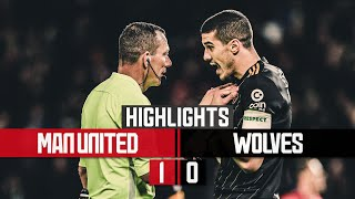 Neto's goal ruled out by VAR | Manchester United 1-0 Wolves | Highlights