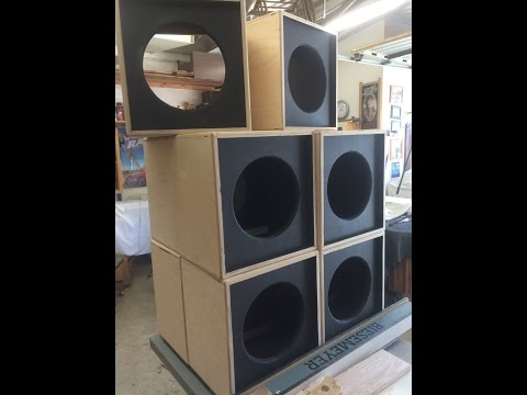 West Hills Wood How to Make 1x12 Speaker Cabinet
