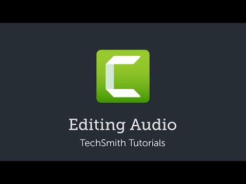 Camtasia 9/3: Editing Audio