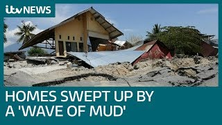 Homes swallowed up in