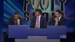 The Footy Show Brainstrain - Benji, Billy, JT