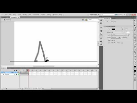 TUTORIAL: How To Make A WalkCycle In Flash CS5