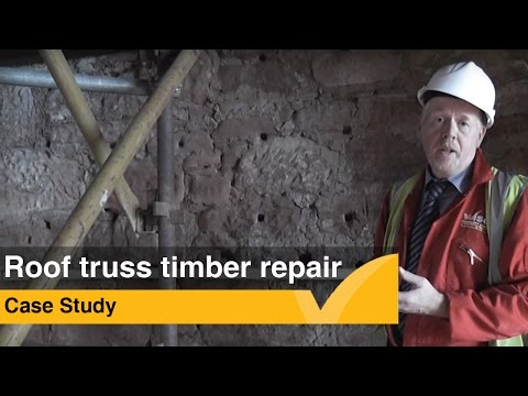 Case Study: Roof Truss Timber Repair
