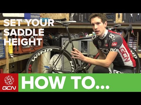 How To Set Your Saddle Height - Tips For Getting Your Saddle Position Right