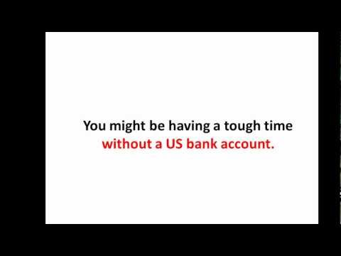 US Bank Account for a  Non US Citizen: How to get paid by a US company