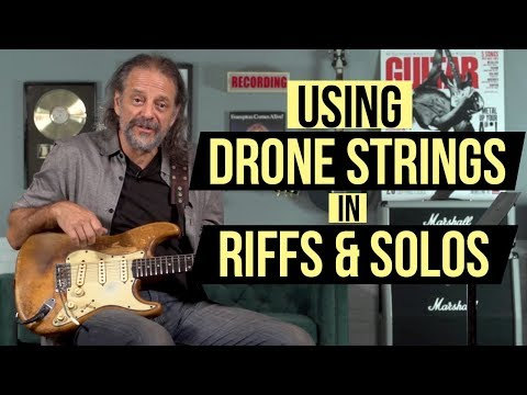 In Deep with Andy Aledort - Expanding on Drones in Riffs and Solos