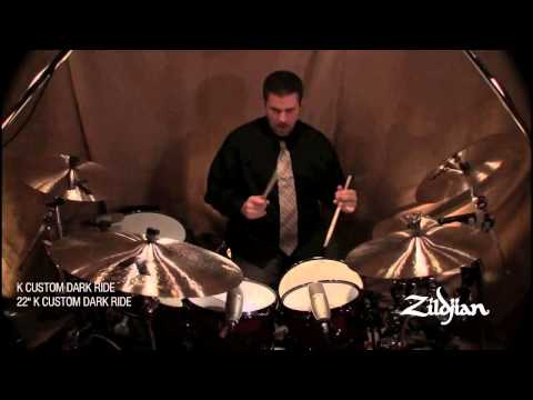 Zildjian Sound Lab - Cymbal Comparison Video - K Custom Dark