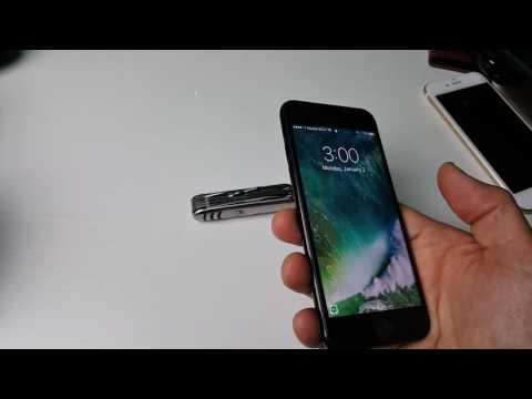 How to Turn ON/OFF & Adjust Flashlight Brightness | iPhone 7 & 7 Plus