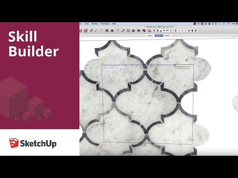 SketchUp Skill Builder: Make Unique Texture