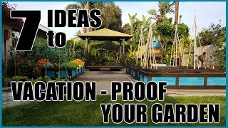 7 Ideas To Water Your Garden Plants While On Vacation