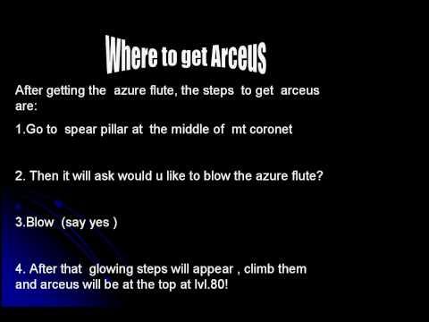 CATCHING THE GOD OF POKEMON - ARCEUS