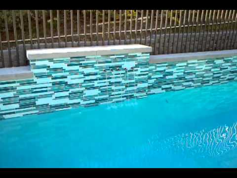 Swimming Pool Glass Tile.3gp
