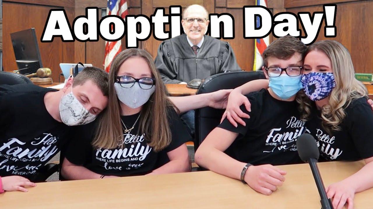 Adoption Day! | ADOPTING 2 TEENS