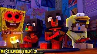 Minecraft MY STEP BROTHER IS......SPONGBOB.EXE - Donut the Dog