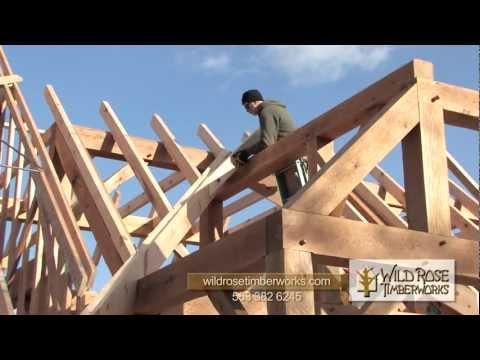 Trout Run Hatchery Timber Frame Raising
