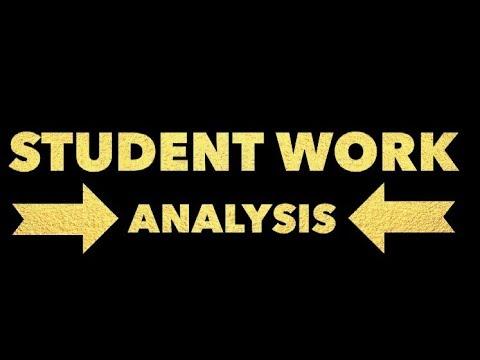 Student Exemplar: Descriptive Writing