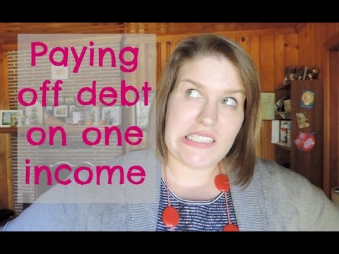 Paying off debt on one income