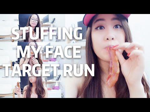 STUFFING MY FACE, TARGET RUN!