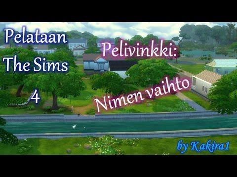 The Sims 4 : Nimen vaihto [Change the name]