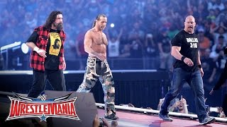 """""""Stone Cold"""", HBK and Mick Foley make a surprise appearance: WrestleMania 32 on WWE Network"""