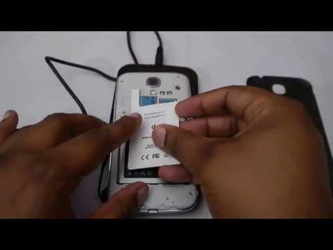 Samsung Galaxy S4 i9505 Qi Wireless Receiver and Pad Unboxing - Works a Treat With No S4 Qi Case