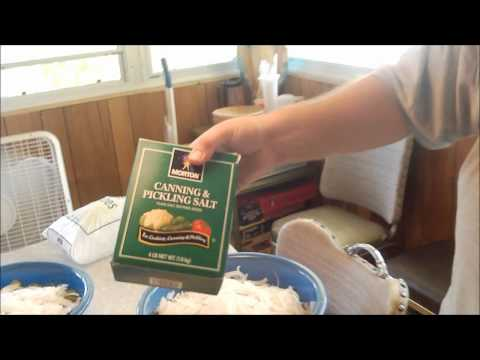 Making Bread and Butter Pickles Part 1 of 2.wmv