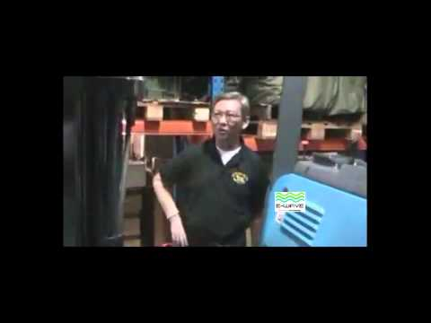 re energizing reach truck battery