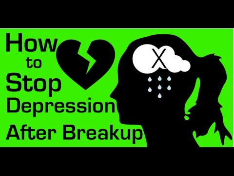 How to Stop Depression After a Breakup: Prevent 'The X Program'