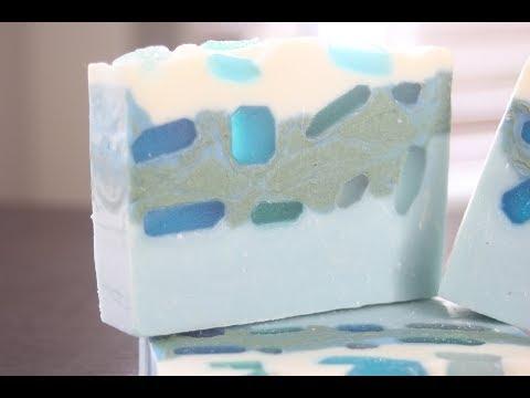 NEW Sea Side Soaps & Sea Glass Soap Unmolding