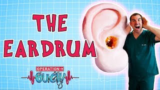 Download Operation Ouch - The Eardrum | Biology for Kids Video