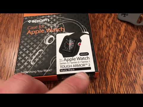 How to put on a Spigen iWatch Apple Watch Protector on