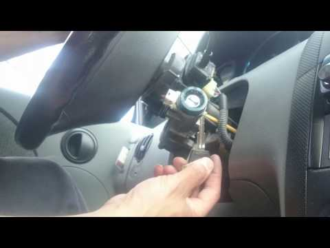 How to replace Ignition cylinder key for chevy aveo 2005