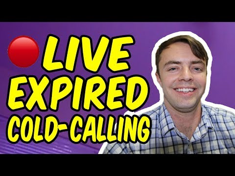 LIVE Real-Estate Expired Cold-Calling (2 SELLER LEADS)