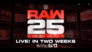 Exclusive News On WWE RAW 25 Format And Plans! WWE PAIGE Cancelled FROM ROYAL RUMBLE 2018