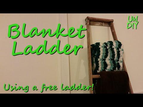 Blanket Ladder - Build Video