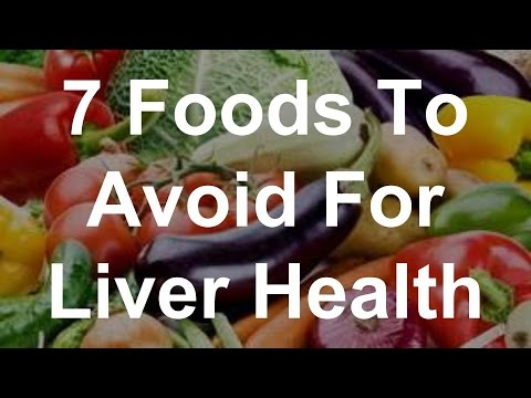 7 Foods To Avoid For Liver Health