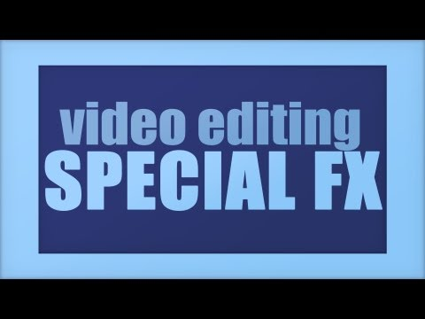 Photoshop CS6 - Video Editing: Special Effects