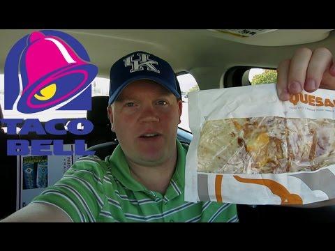 Reed Reviews Taco Bell Cheese Quesadilla