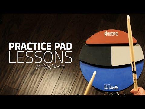Practice Pad Lesson For Beginners - Drum Lesson (Drumeo)