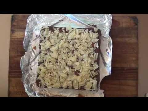 How to make potato chip and caramel fudge recipe