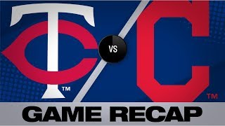 Sano's grand slam powers Twins past Indians | Twins-Indians Game Highlights 9/14/19