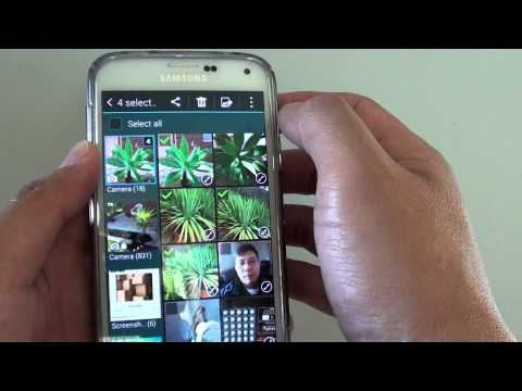 Samsung Galaxy S5: How to Move Pictures to Different Photo Album